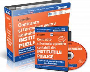 Contracte si Formulare pentru contabilii din Institutii Publice
