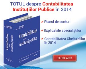Cele mai importante modificari in contabilitatea institutiilor publice 2014