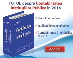 Cele mai importante modificari in contabilitatea institutiilor publice 2014