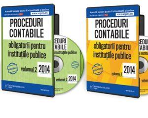 20 de proceduri contabile obligatorii pentru institutiile publice in 2014