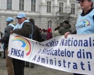 Sindicalistii anunta greva generala pe termen nelimitat in institutiile publice