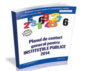 Planul de conturi general pentru Institutiile Publice 2014, editia de buzunar!