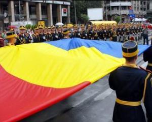 Ziua Drapelului National, sarbatorita in Piata Tricolorului
