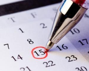 Efectuarea concediului de odihna in avans, pentru anul 2015
