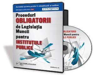 Mic compendiu de legislatie aplicata procedurilor de management al Resurselor Umane din institutii publice
