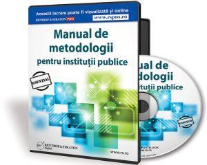 Nou: Manual de Metodologii pentru Institutii Publice