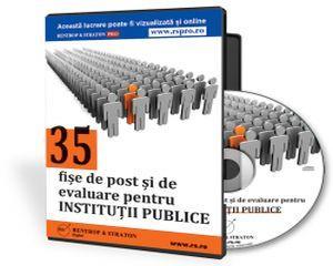 Fise de post si de evaluare pentru institutiile publice din Romania