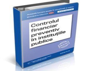 Nu ati organizat controlul financiar preventiv in institutia pe care o conduceti?
