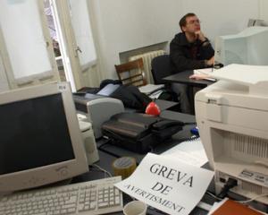 Greva generala in administratia publica: solicitarile sindicalistilor