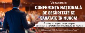 Conferinta Nationala de Securitate si Sanatate in Munca: ultimele locuri disponibile