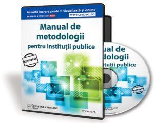 Aveti Manualul de Metodologii pentru institutii publice?
