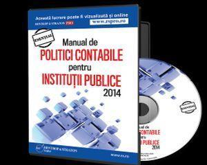 NOU: Manual de Politici Contabile conform Noilor Reglementari Contabile 2014!