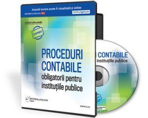 Procedurile Contabile gata intocmite in conformitate cu O.S.G.G. nr. 400/2015 si eglementarile contabile 2015!