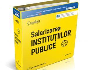 Consilier Salarizarea in Institutiile Publice