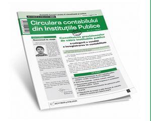Circulara Contabilului din Institutiile Publice, o publicatie nou lansata in Romania