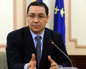 Ponta: Guvernul va sesiza CCR cu privire la dreptul presedintelui de a participa la campania electorala