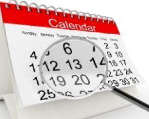 Zile libere pentru bugetari in 2015. Care este urmatorul weekend prelungit